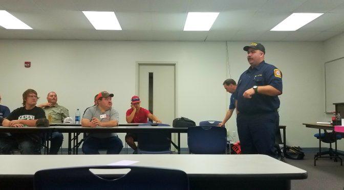 2019 Navarro County Fire School