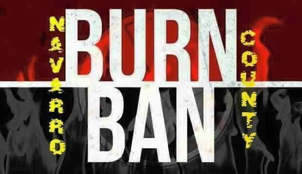 Burn Ban in Effect 12 Aug
